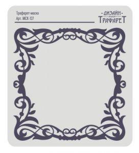 Трафарет-маска EVENT DESIGN пластиковый МСК-127, размер 15х15см ― HandMadeDecor
