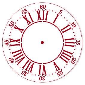 "Трафарет EVENT DESIGN пластиковый многоразовый ""Элегант, диаметр 15 - 30"", диаметр 15см ― HandMadeDecor"