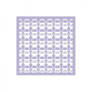"""Трафарет-маска EVENT DESIGN пластиковый МСК-056 """"Цветы """", размер 15х15см  ― HandMadeDecor"""