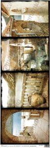 Рисовая бумага с рисунком DECOMANIA, 25х70 см, M1157 ― HandMadeDecor