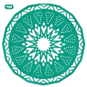 Трафарет DECORITI №0980, размер 25х25см  ― HandMadeDecor