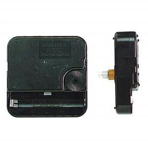 Механизм часовой кварцевый, с дискретным ходом - 12888 SС, высота оси – 23, высота резьбы -14 мм (без стрелок, и без петли)  ― HandMadeDecor