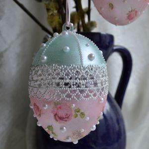 Пасхальный декор. Как задекорировать пластиковое яйцо ― HandMadeDecor