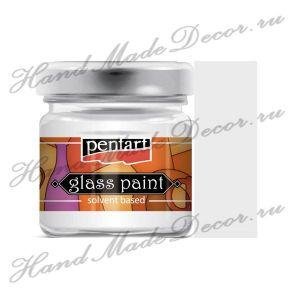 Витражная краска Pentart на основе органического растворителя, 30 мл, прозрачный ― HandMadeDecor