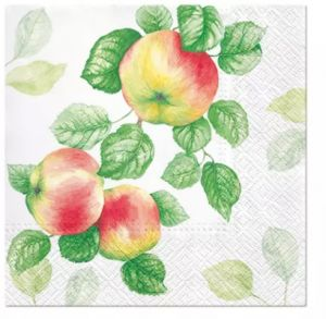 Салфетка для декупажа, 2264, 33х33 см, яблоки ― HandMadeDecor