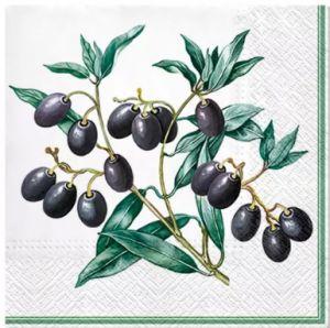 Салфетка для декупажа, 2270, 33х33 см, маслины ― HandMadeDecor