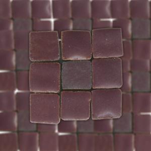 Мозаика керамическая глазурованная мини Rayher, 5х5х3 мм, упаковка ок.100 шт.,цвет 297 темно-красный ― HandMadeDecor
