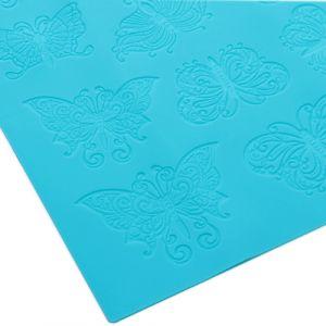 "Коврик для айсинга ""Бабочки"",  39х29,5 см ― HandMadeDecor"