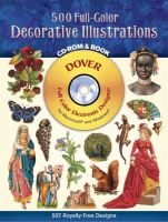 500 Full-Color Decorative Illustrations CD-ROM and Book (без скидок)