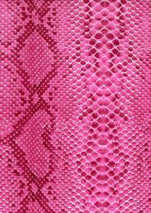Бумага для техники DECOPATCH, арт 210, розовый питон, 30x39см - ЧУДЕСА (скидки не распространяются)  ― HandMadeDecor