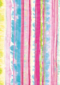 Бумага для техники DECOPATCH, арт 406, розовые и сиреневые размытые полоски, 30x39см ― HandMadeDecor
