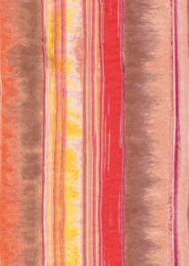 Бумага для техники DECOPATCH, арт 407, красно-коричневые полоски, 30x39см ― HandMadeDecor