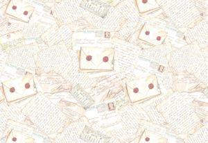 Декупажные карты рисовые Stamperia, 33х48, DFS 057 письма  ― HandMadeDecor
