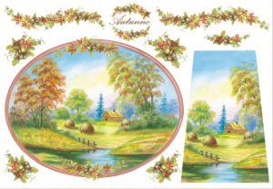 Декупажные карты рисовые Stamperia, 33х48, DFS 068   ― HandMadeDecor