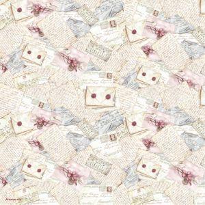 Рисовая салфетка STAMPERIA, арт. DFT083, 50х50см ― HandMadeDecor