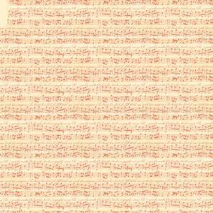 Рисовая салфетка STAMPERIA, арт. DFT200, 50х50см - Музыка  ― HandMadeDecor
