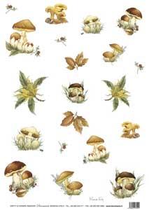 Рисовая бумага с рисунком DECOMANIA, арт. Д5039 ― HandMadeDecor