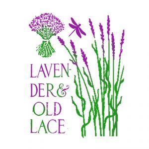 Трафарет STAMPERIA, Lavender old lace, 21х29,7см  ― HandMadeDecor