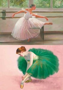 бумага малберри Calambour PAU 57, балерины ― HandMadeDecor