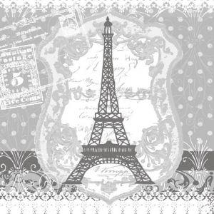 Салфетка для декупажа, 1028, Париж. Эйфелева башня ― HandMadeDecor